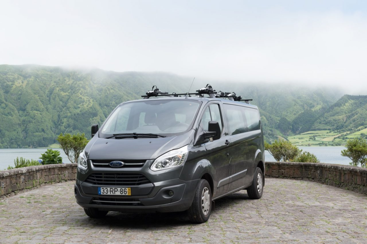 Procyon van used in tour ans services by factory 76